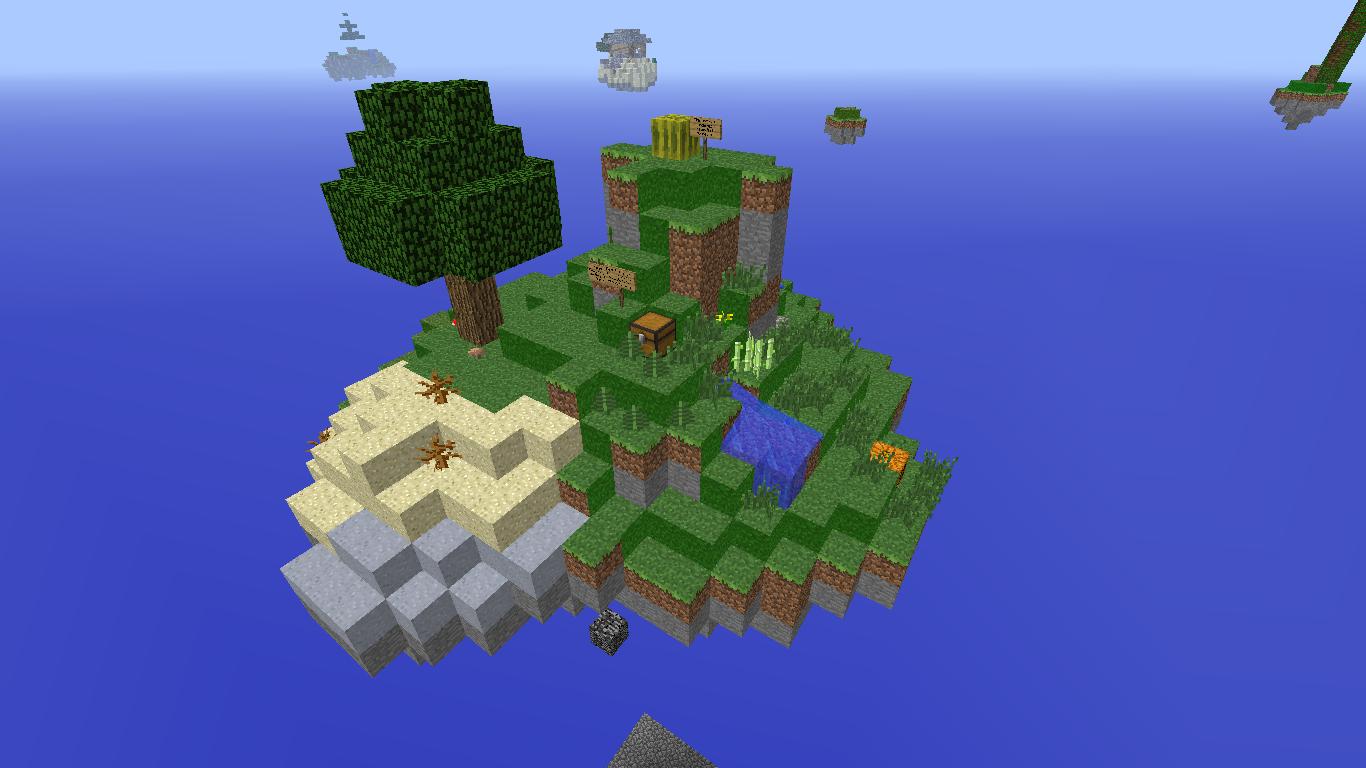 Waka Islands [1.8] [1.7.10] [1.7.2] / Карты для Майнкрафт ...